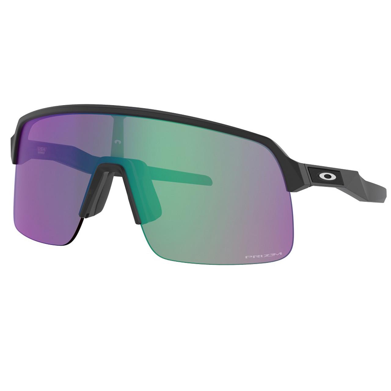 Matte Black w/ Prizm Road Jade - Oakley Sutro Lite Sunglasses