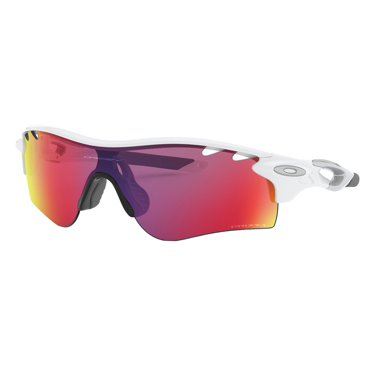 Polished White w/ Prizm Road - Oakley Radarlock Path Sunglasses