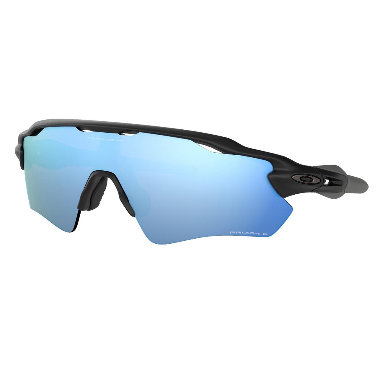 Matte Black w/ Prizm Deep H2O Polarized - Oakley Radar EV Path Sunglasses