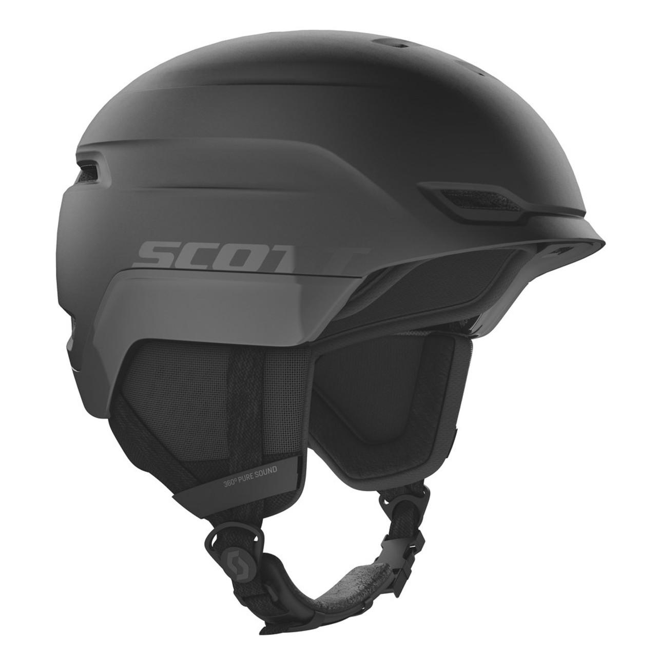 Black - Scott Chase 2 PLUS Helmet