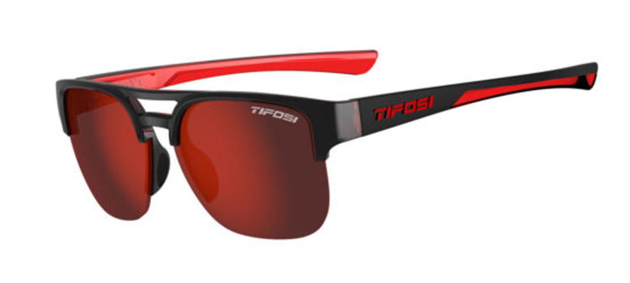 Crimson Onyx w/ Smoke Red - Tifosi Salvo Sunglasses