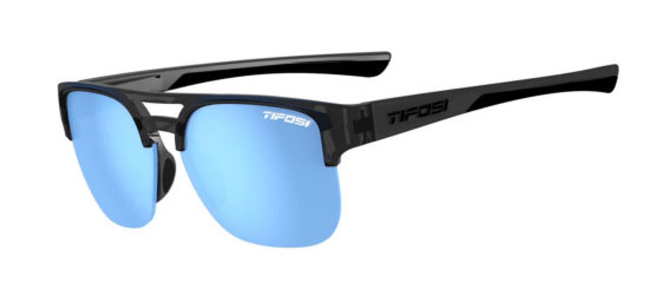 Crystal Smoke w/ Sky Blue - Tifosi Salvo Sunglasses