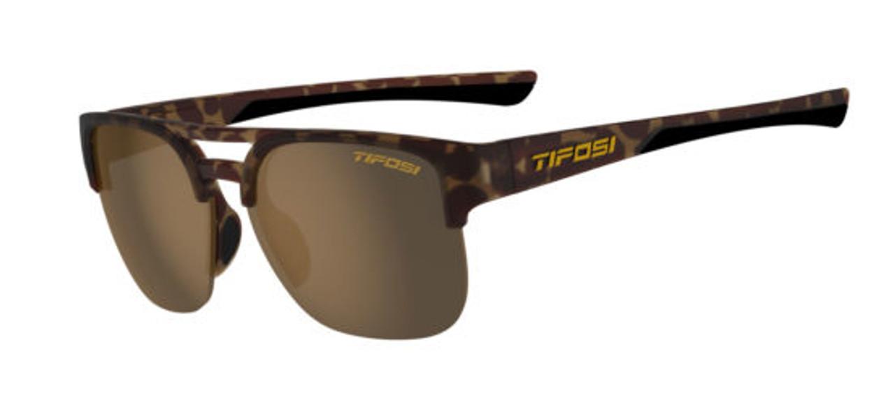 Matte Tortoise w/ Brown Polarized - Tifosi Salvo Sunglasses