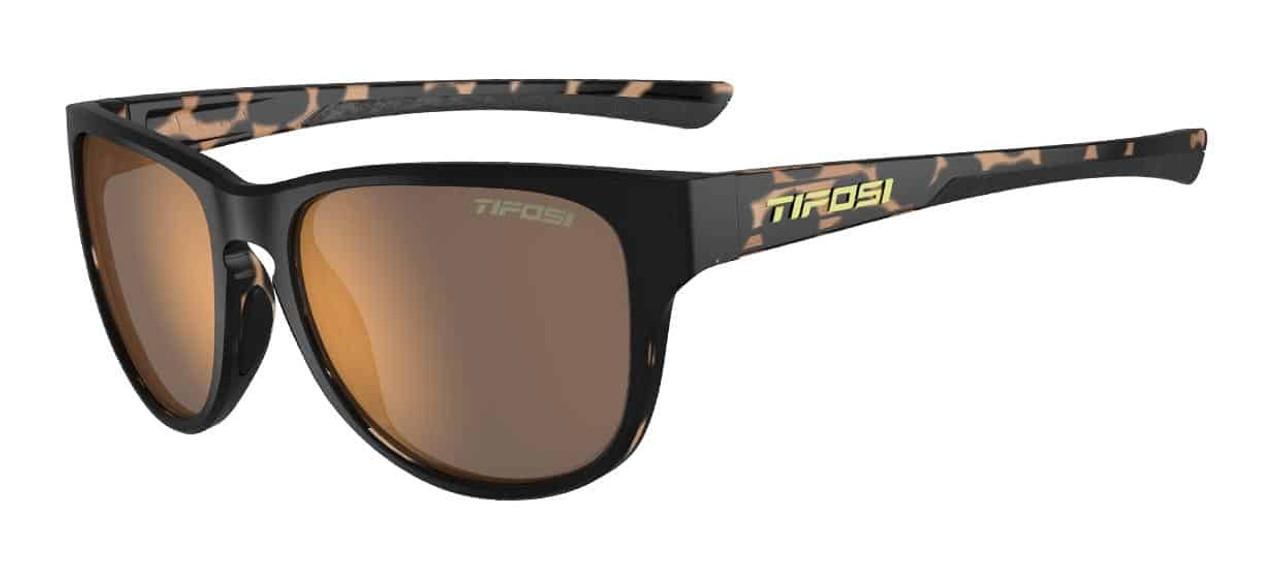 Satin Black/Java Fade w/ Brown Polarized - Tifosi Smoove Sunglasses