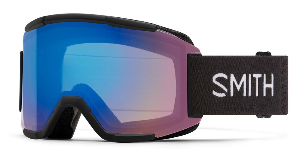 Black w/ Chromapop Storm Rose Flash - Smith Squad Goggles