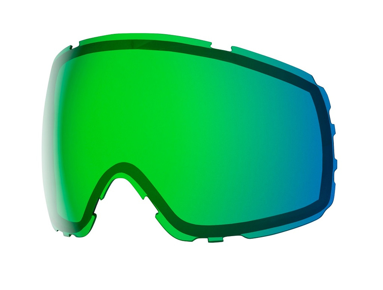 Chromapop Everyday Green Mirror - Smith Proxy Replacement Lenses