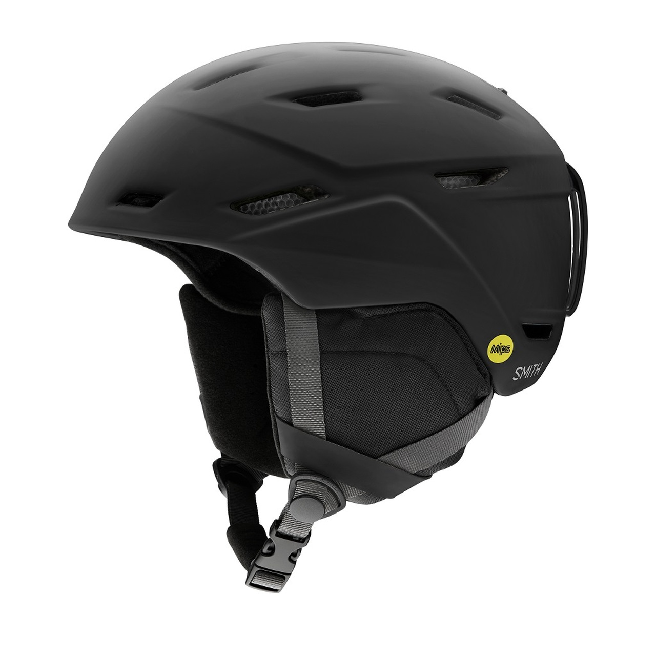 Matte Black - Smith Mission MIPS Helmet