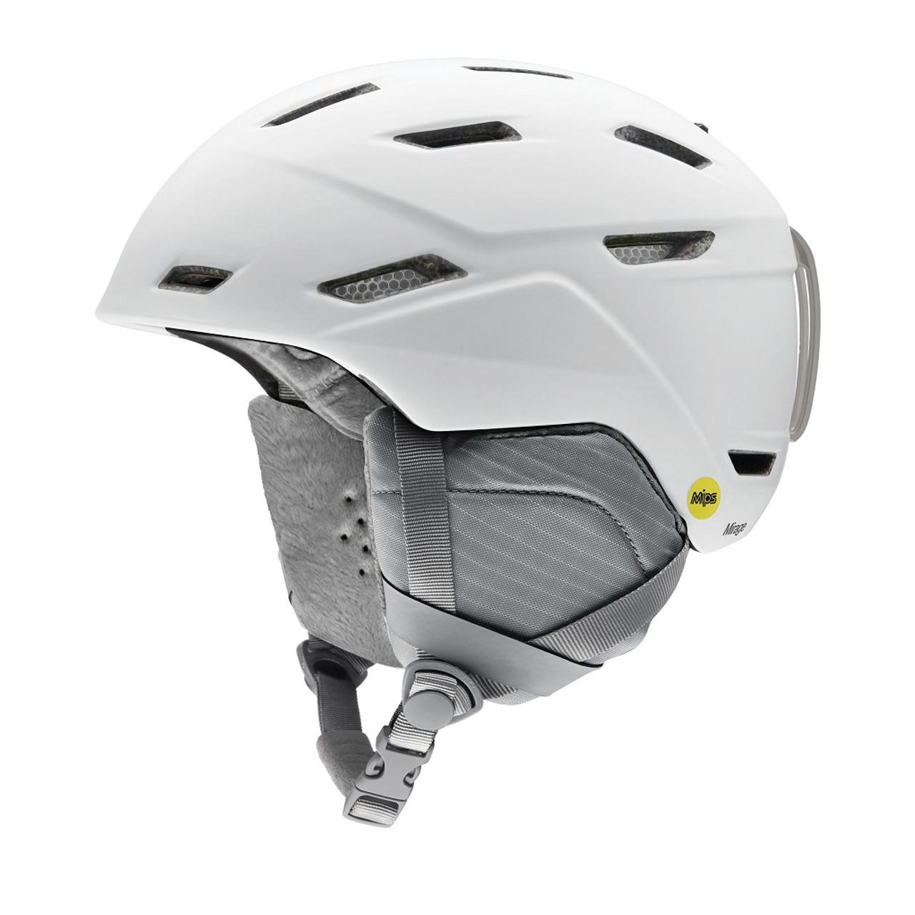 Matte White - Smith Mirage MIPS Helmet