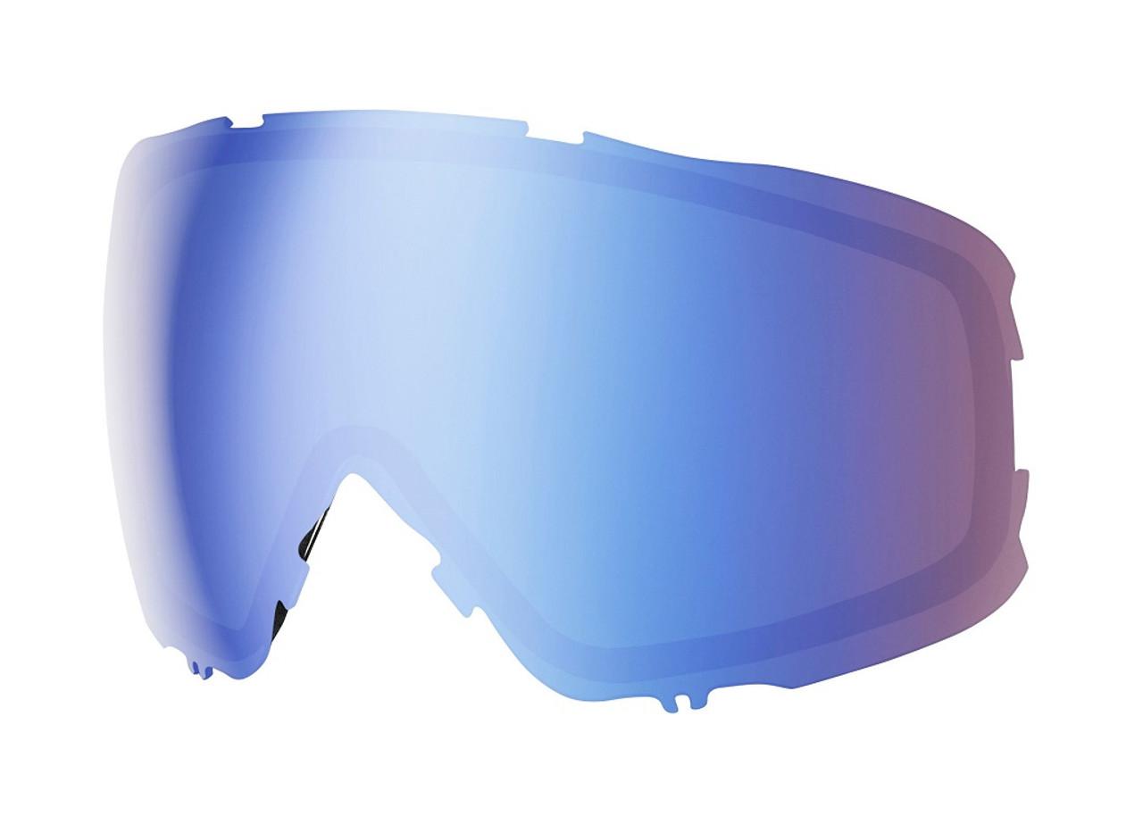 Chromapop Storm Blue Sensor Mirror - Smith Moment Replacement Lenses