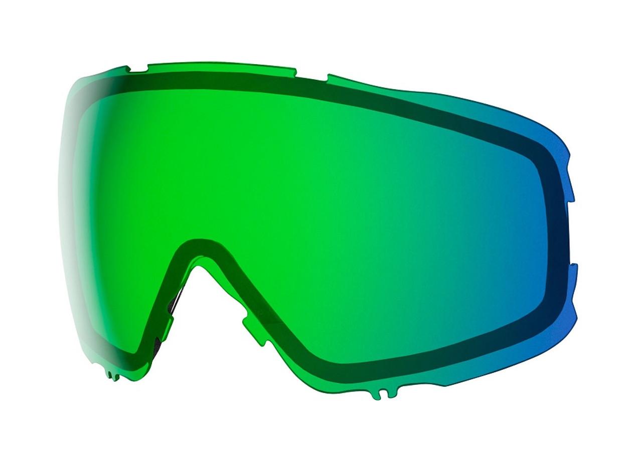Chromapop Everyday Green Mirror - Smith Moment Replacement Lenses