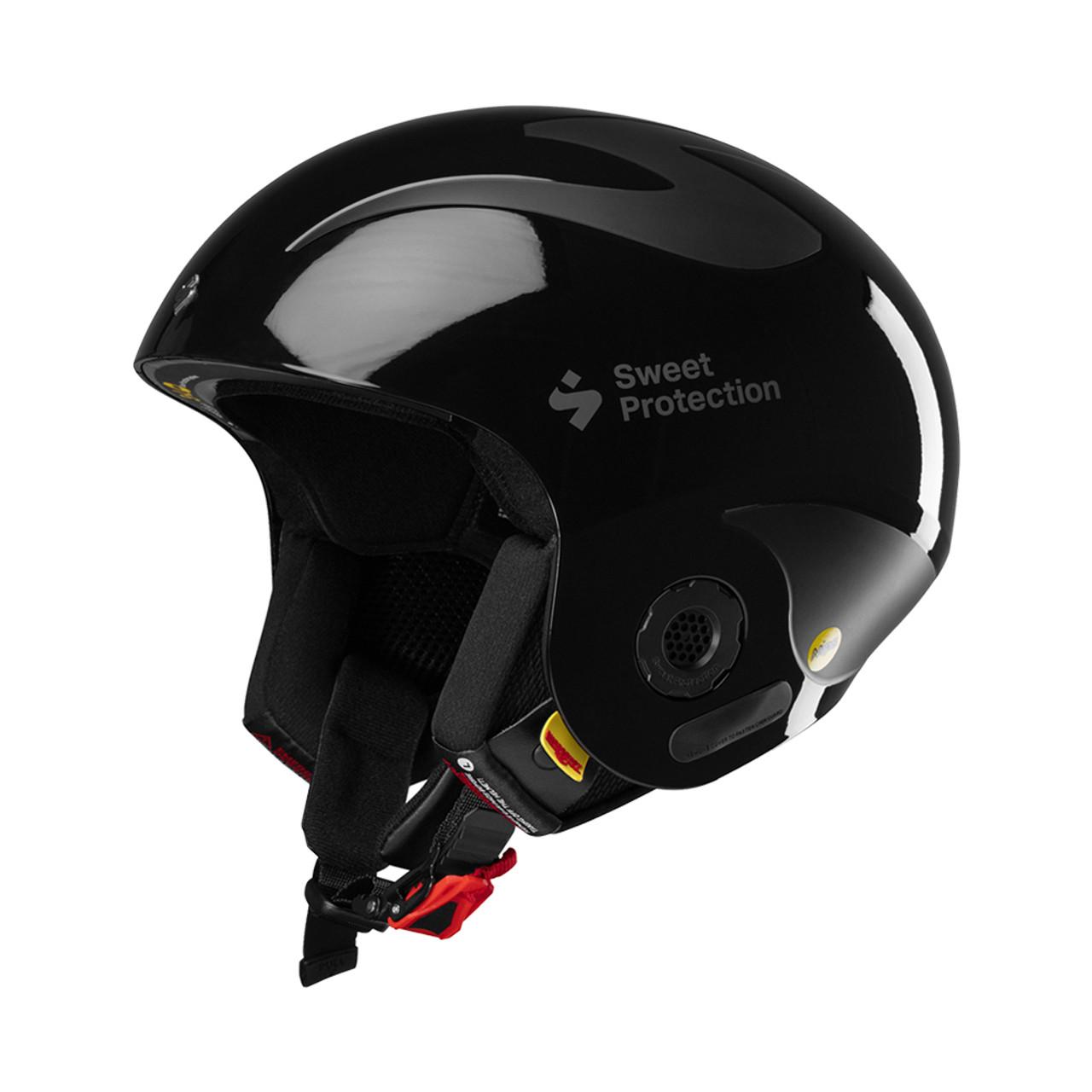 Gloss Black - Sweet Protection Volata MIPS Race Helmet
