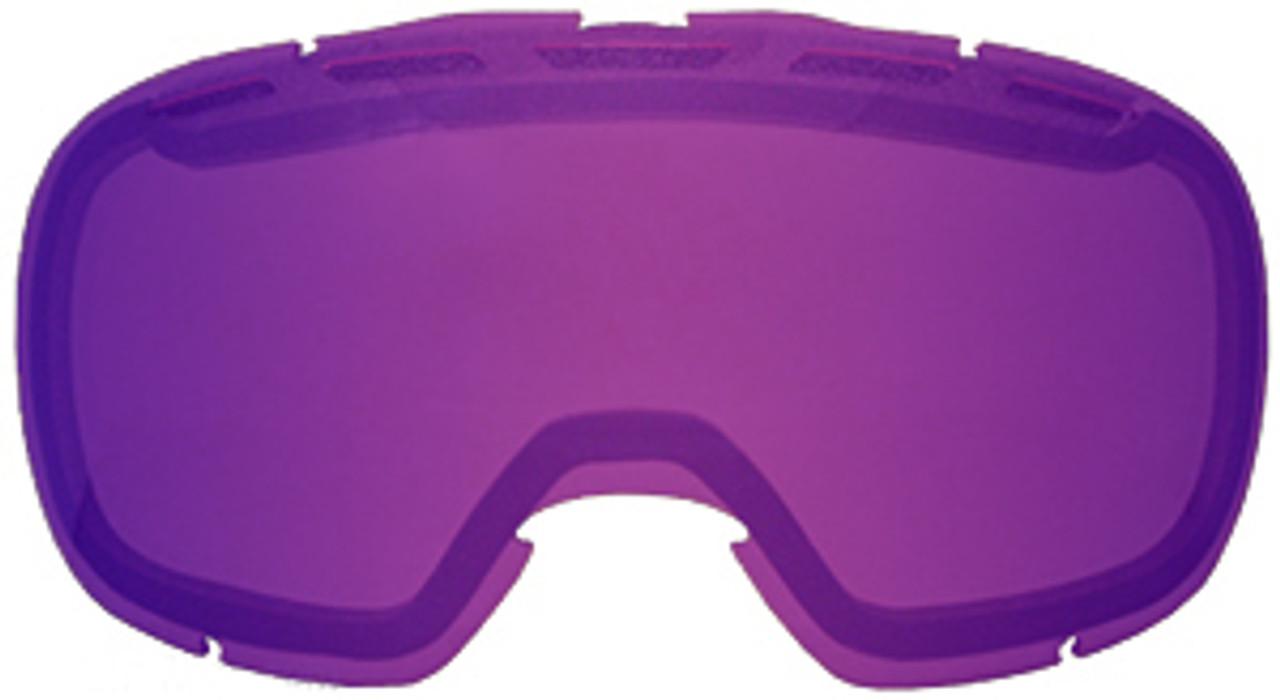 Grey Purple Mirror