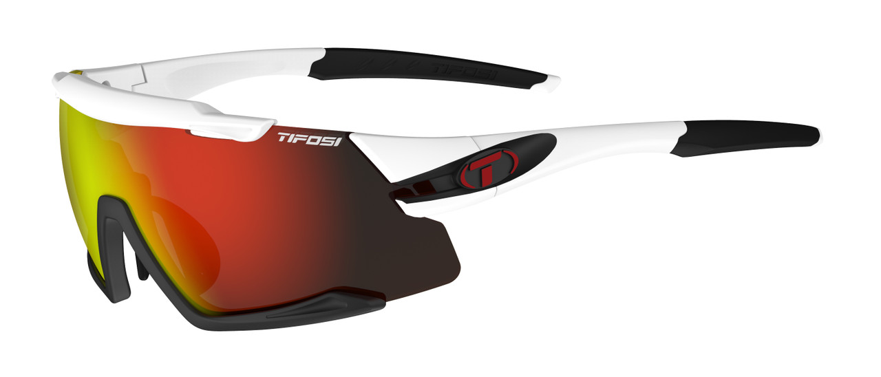 White/Black - Clarion Red, AC Red, Clear