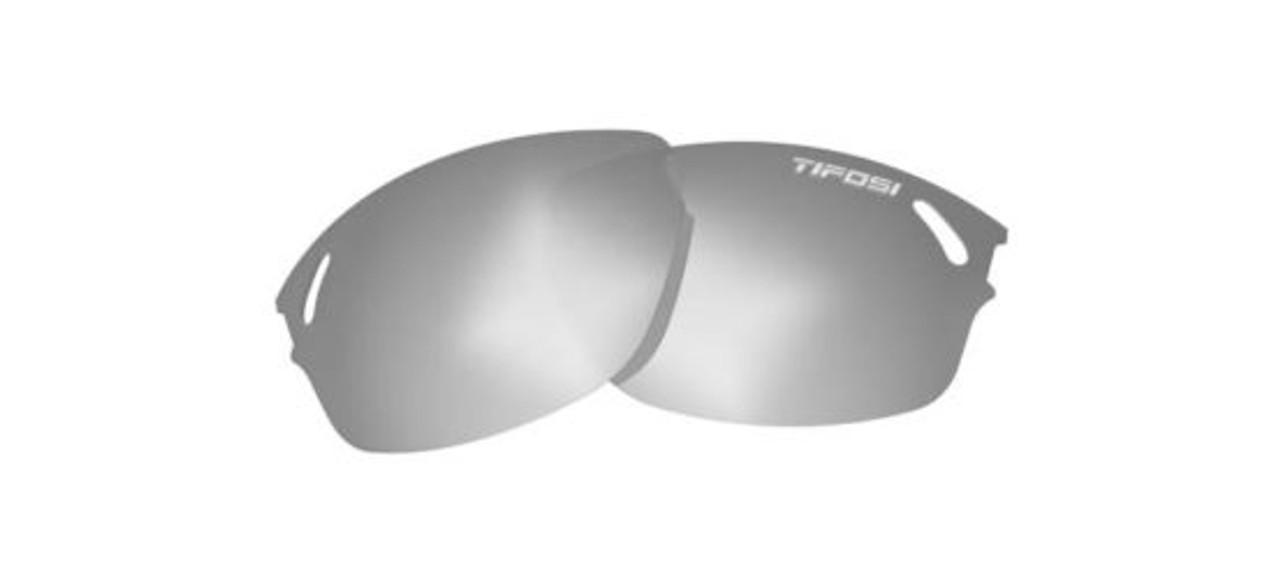 Smoke Lenses Tifosi Wasp New White//Gunmetal Color Sample# 68
