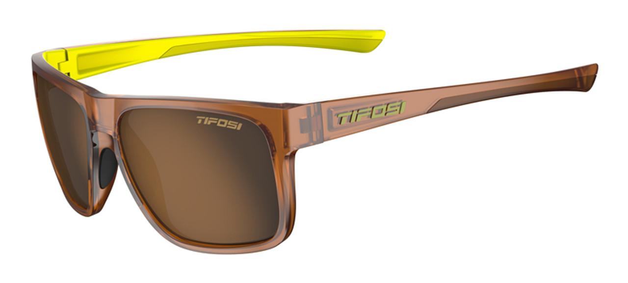 Caramel Neon w/ Brown Polarized - Tifosi Swick Sunglasses