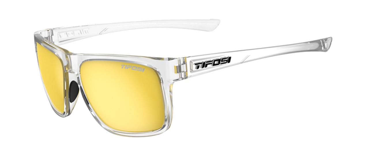 Crystal Clear w/ Smoke Yellow - Tifosi Swick Sunglasses
