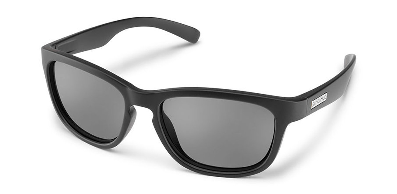 SunCloud Cinco Matte Black  Sunglasses