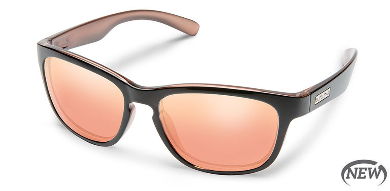 SunCloud Cinco Rose Backpaint Sunglasses