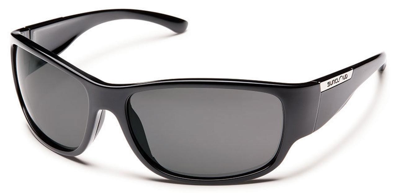 SunCloud Convoy Black Polarized Sunglasses