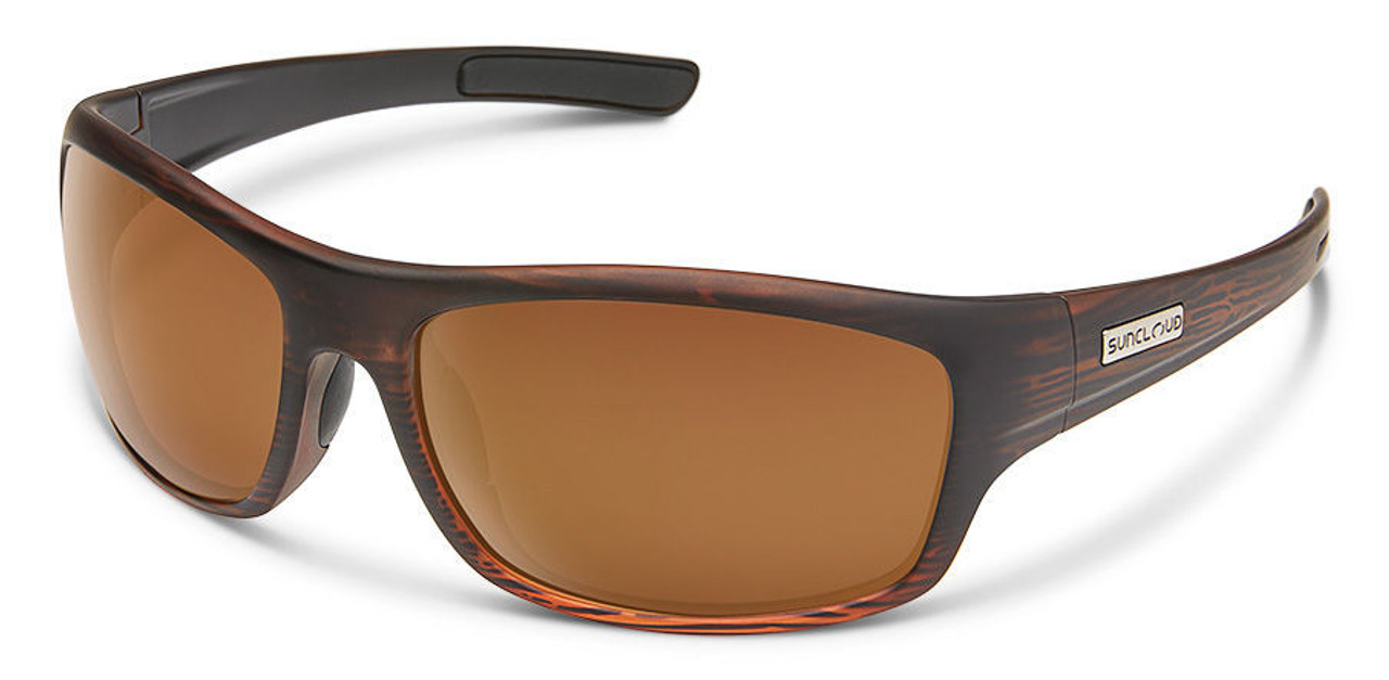 SunCloud Cover Burnished Brown Polarized Sunglasses