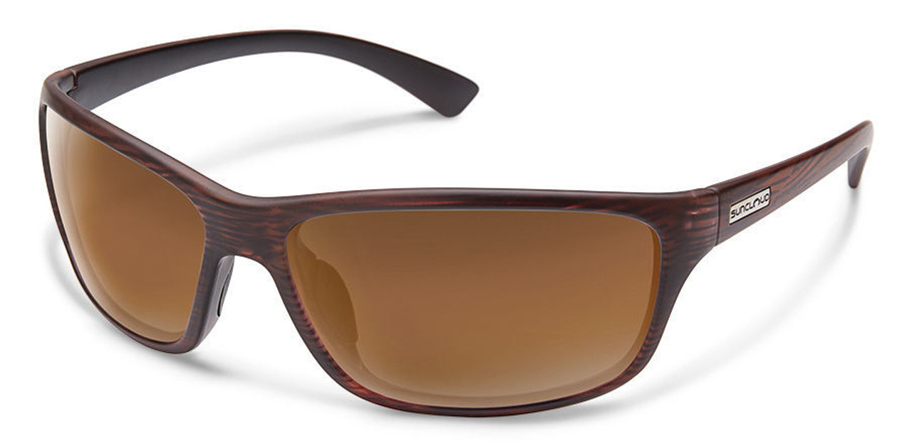 SunCloud Sentry Burnished Brown Polarized Sunglasses