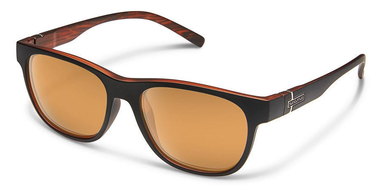 SunCloud Scene Sunglasses Matte Black Polarized