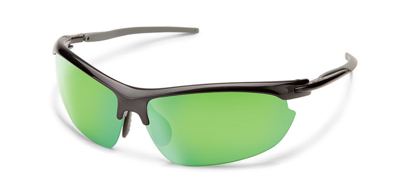 SunCloud Slant Sunglasses Steel Polarized
