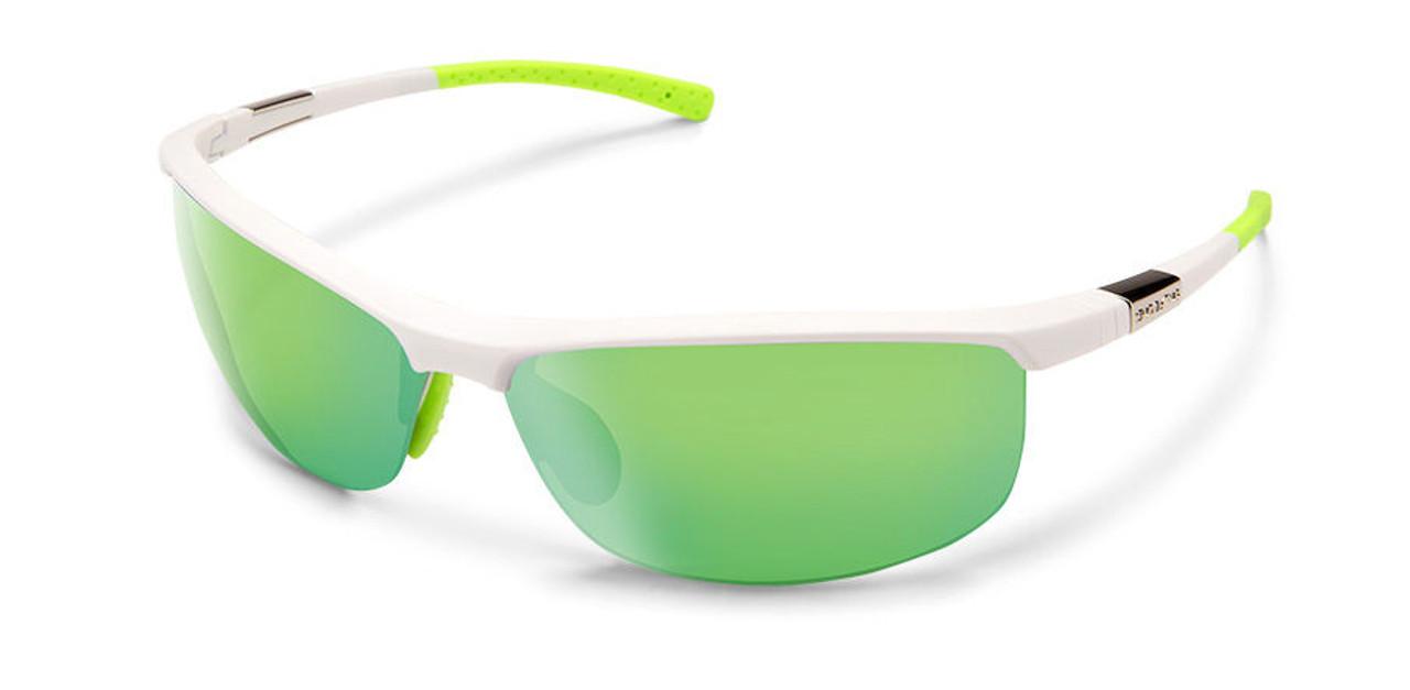 SunCloud Tension White Sunglasses