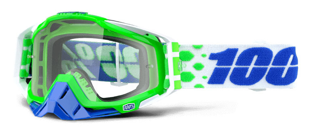 Ride 100% Racecraft Moto Alchemy Goggle Clear Lens