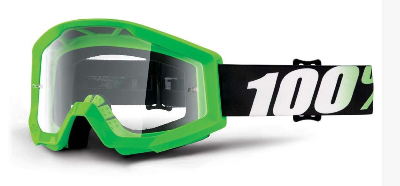 Ride 100% Strata Moto Arkon Goggle Clear Lens