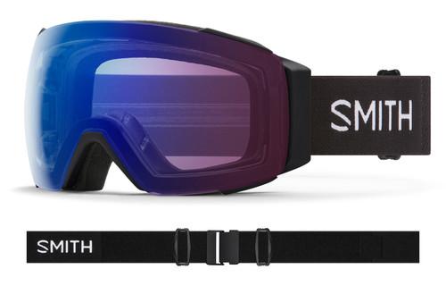 Black w/ Chromapop Photochromic Rose Flash - Smith IO MAG Goggles