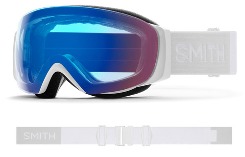 IO MAG S White Vapor - Chromapop Photochromic Rose Flash