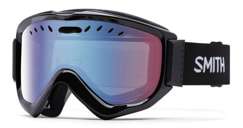 Black w/Blue Sensor Mirror - Smith Knowledge OTG Goggles