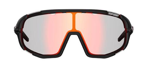 Matte Black w/ Clarion Red Fototec - Tifosi Sledge Sunglasses
