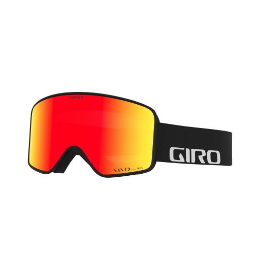 Giro Method Black Wordmark Goggle Vivid Ember + Vivid Infrared