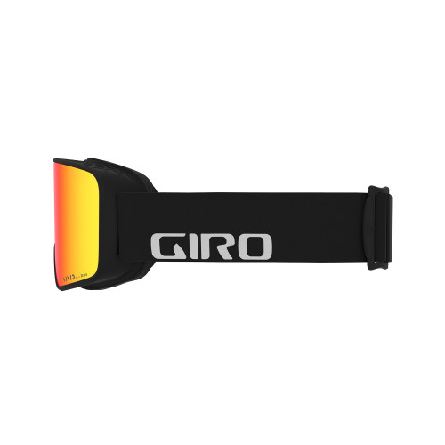 Giro Method Black Wordmark Goggle Vivid Ember + Vivid Infrared