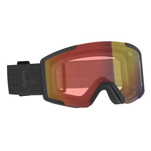 Shield Black w/ Light Sensitive Red Chrome - Scott Shield Goggles