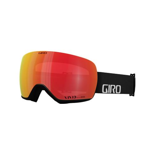 Black Woodmark w/ Vivid Ember + Vivid Infrared - Giro Article Snow Goggles