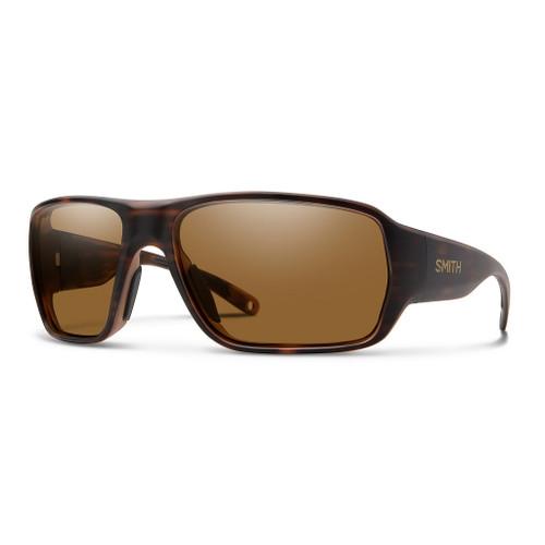 Matte Tortoise w/ ChromaPop Glass Polarized Brown - Smith Castaway Sunglasses