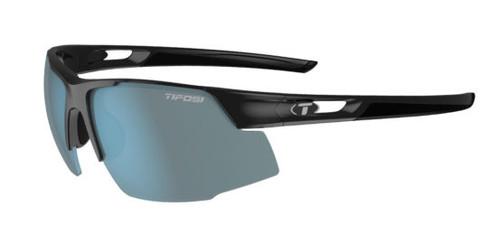 Gloss Black w/ Smoke Bright Blue - Tifosi Centus Sunglasses