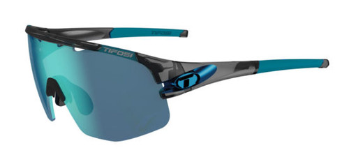 Crystal Smoke w/ Clarion Blue, AC Red, Clear - Tifosi Sledge Sunglasses