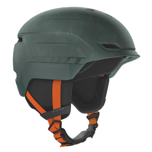 Sombre Green/Pumpkin Orange - Scott Chase 2 PLUS Helmet