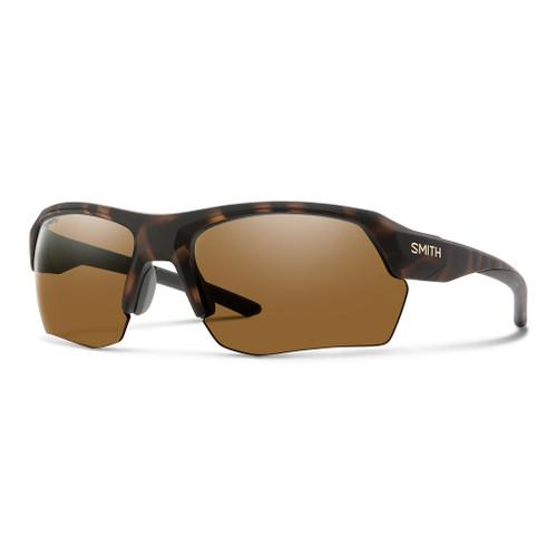 Matte Tortoise w/ Chromapop Polarized Brown - Smith Tempo Max Sunglasses