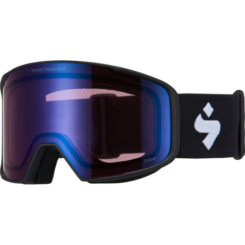 Matte Black w/ RIG Light Amethyst - Sweet Protection Boondock Goggles