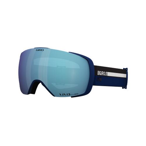 Midnight Cassette w/ Vivid Royal - Giro Contact Goggles