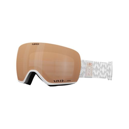 White Limitless w/ Vivid Copper - Giro Lusi Goggles
