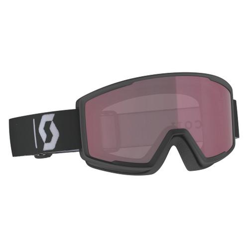 Black/White w/ Enhancer - Scott Factor Goggles