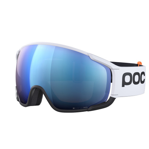 Hydrogen White w/ Spektris Blue Lenses - POC Zonula Clarity Comp+ Goggles