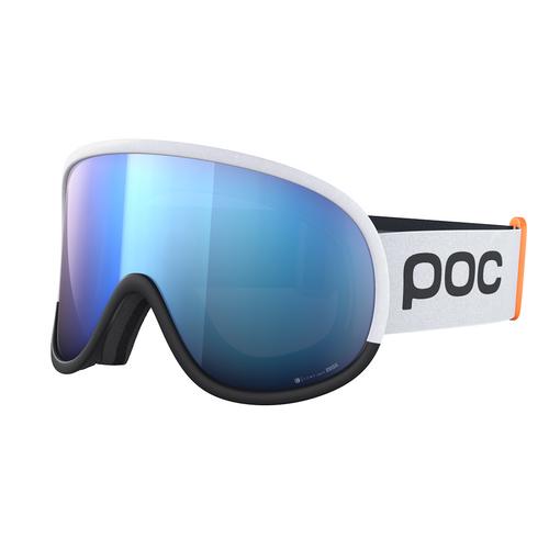 Hydrogen White w/ Spektris Blue - POC Retina Big Clarity Comp+ Goggles