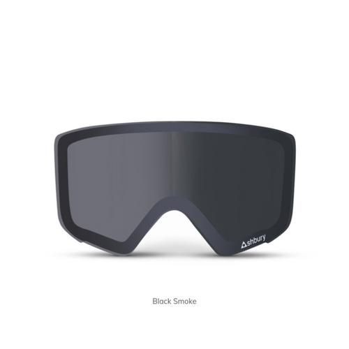 Black Smoke - Ashbury Arrow Goggle Lens